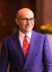 Candid Photo of Vincent Berthou